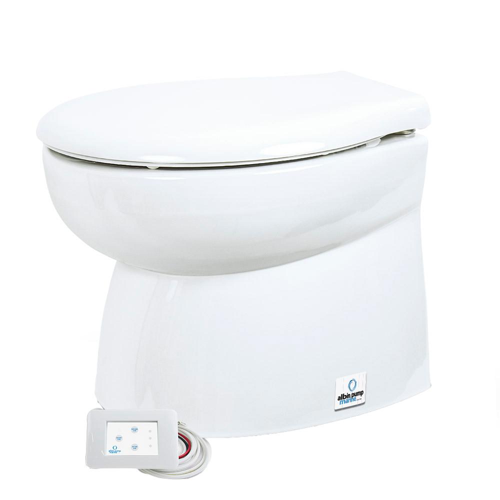 Albin Pump Marine Toilet Silent Premium Low - 12V CD-73556