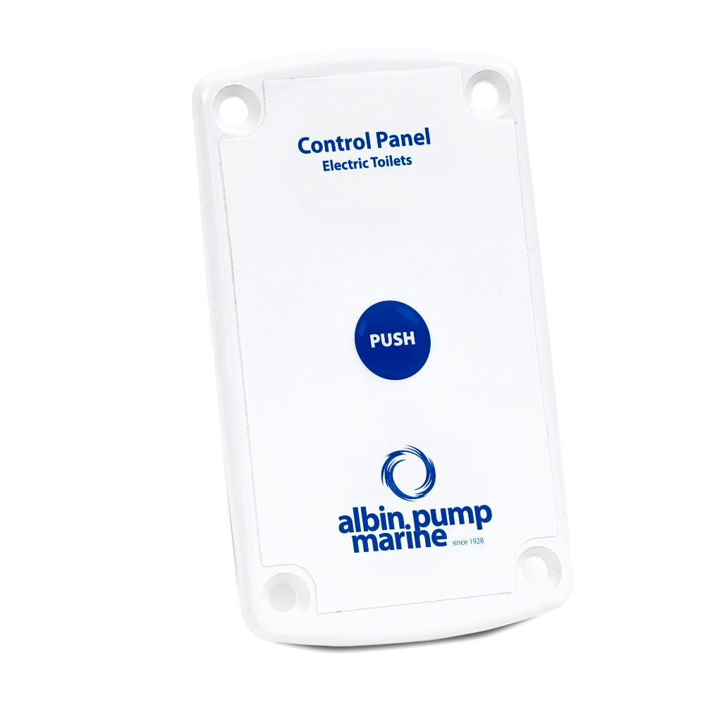 Albin Pump Marine Control Panel Standard Electric Toilet CD-73563