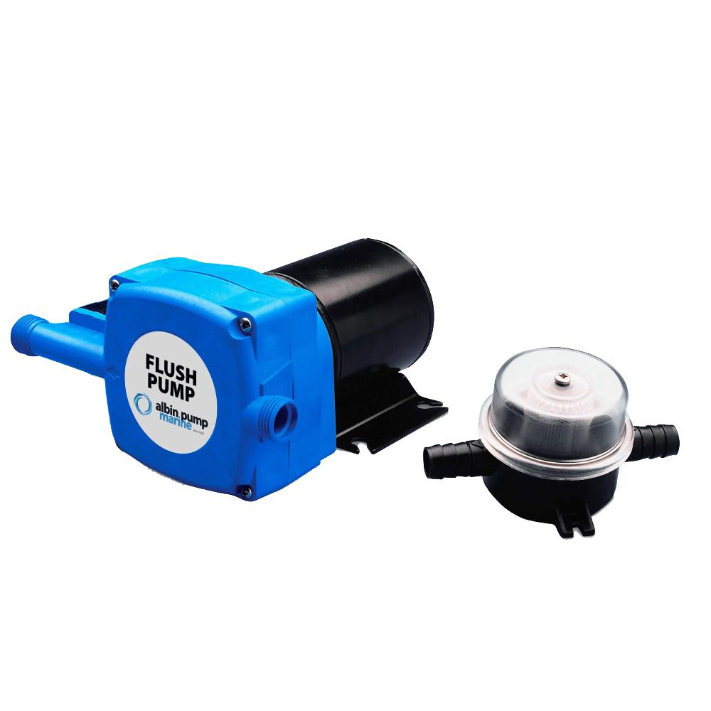 Albin Pump Marine Flush Pump - 24V CD-73599