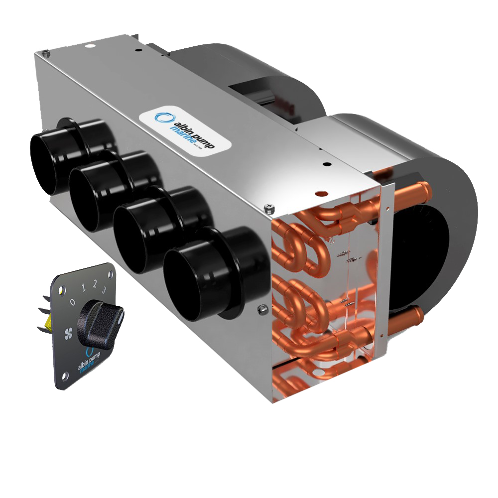 Albin Pump Marine Premium Defroster Kit 12kW - 24V CD-73655