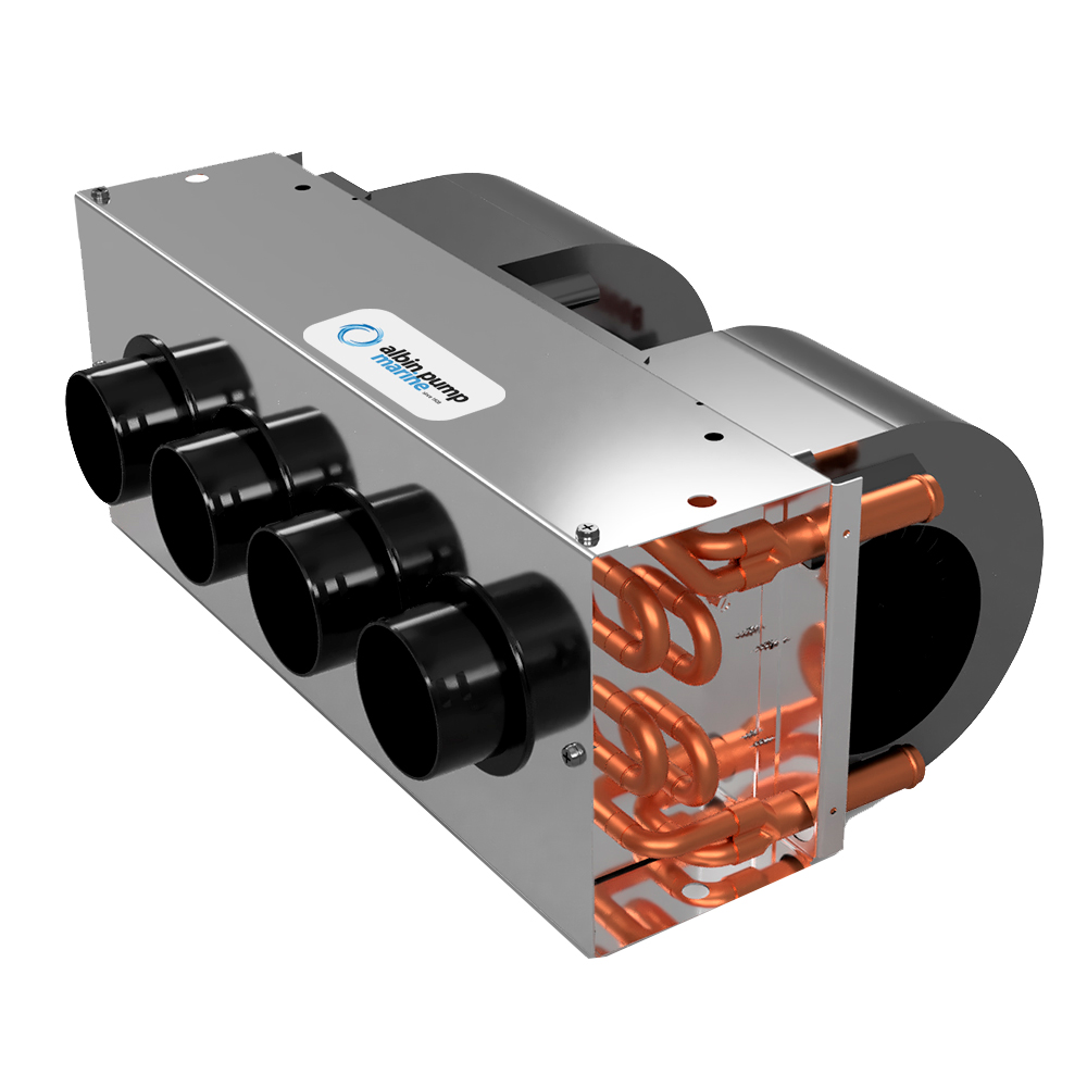Albin Pump Marine Premium Defroster 12kW - 24V CD-73662