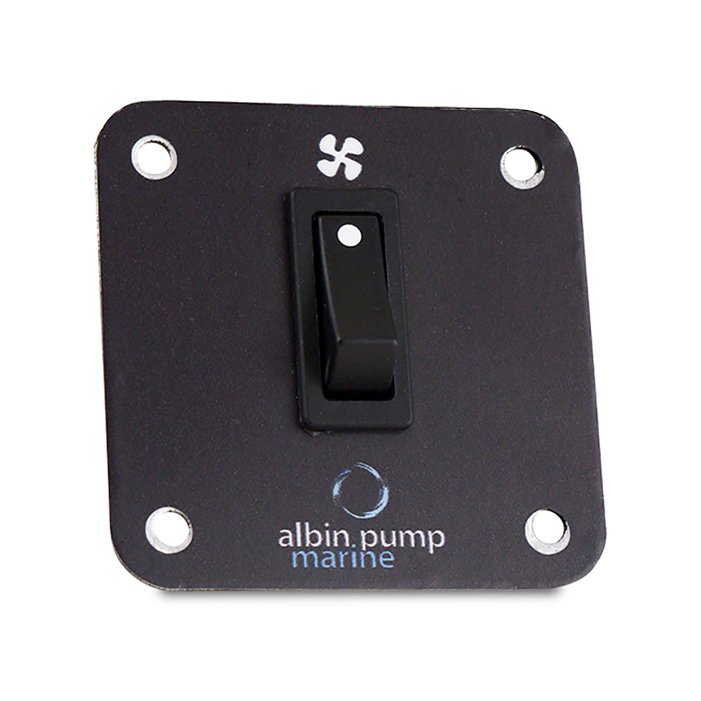 Albin Pump Marine Control Panel 2kW - 12V CD-73663