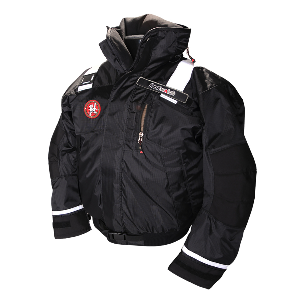 First Watch AB-1100 Pro Bomber Jacket - Small - Black - AB-1100-PRO-BK-S