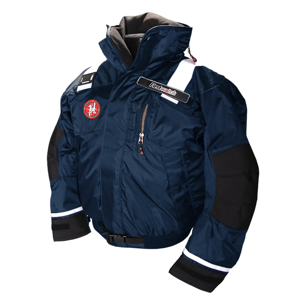 First Watch AB-1100 Pro Bomber Jacket - Small - Navy - AB-1100-PRO-NV-S
