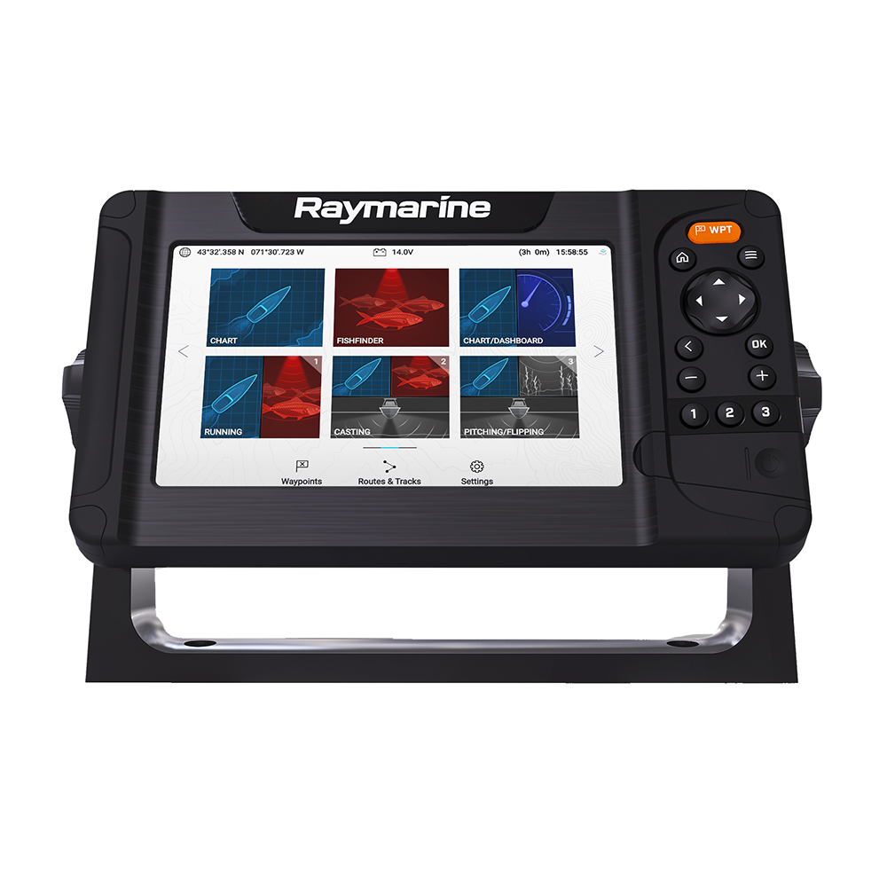 Raymarine Element 7 HV with Nav+ US and Canada Chart - No Transducer - E70532-00-NAG