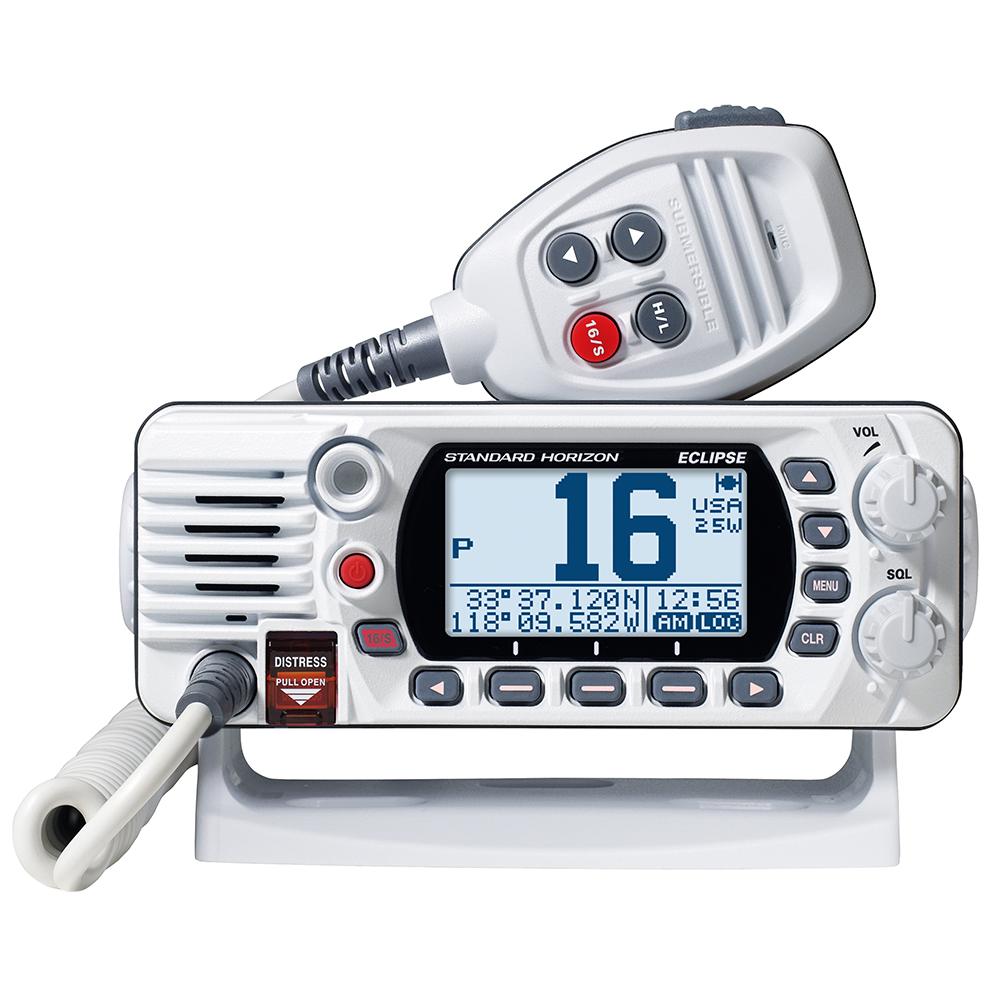 Standard Horizon GX1400G Fixed Mount VHF with GPS - White - GX1400GW