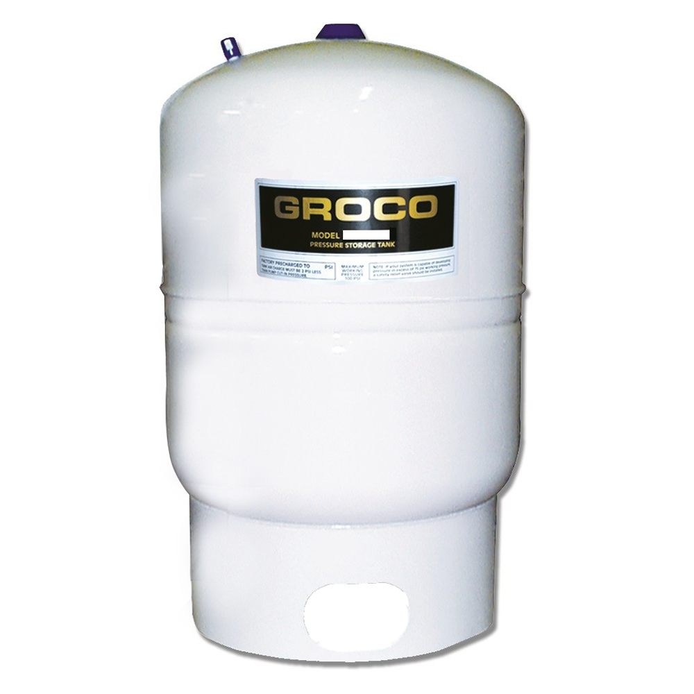 GROCO Pressure Storage Tank - 3.2 Gallon Drawdown - PST-3A