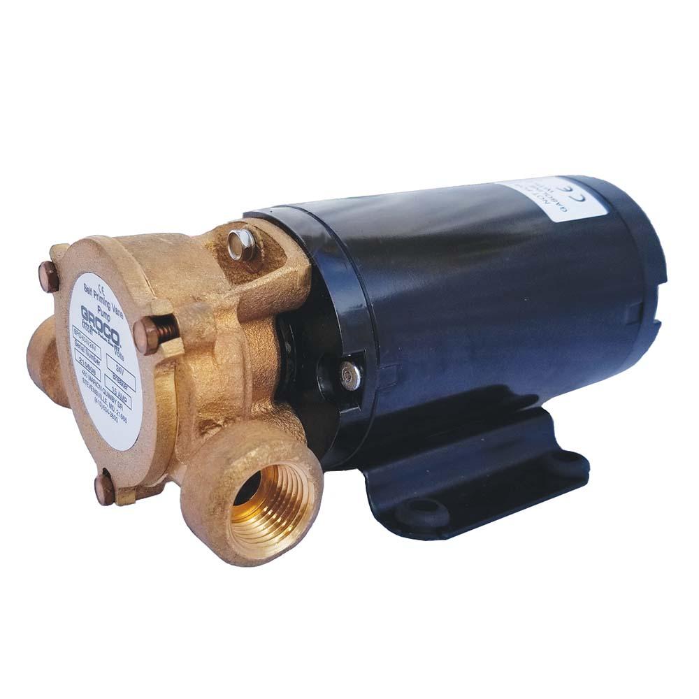 GROCO Commercial Duty Vane Pump - 12V - SPO-80-N 12V