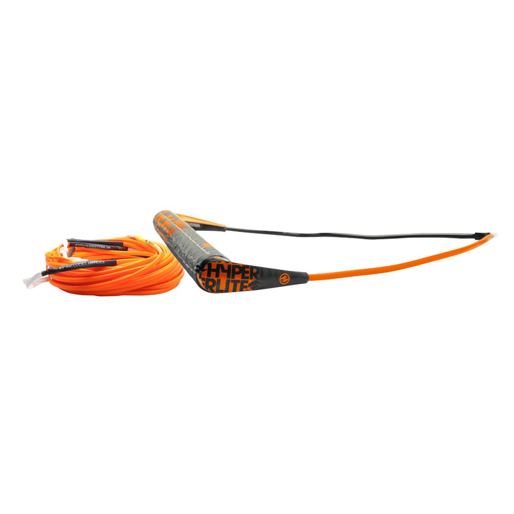 Hyperlite Team Handle with 75' Silicone X-Line Combo - Orange - 77000400