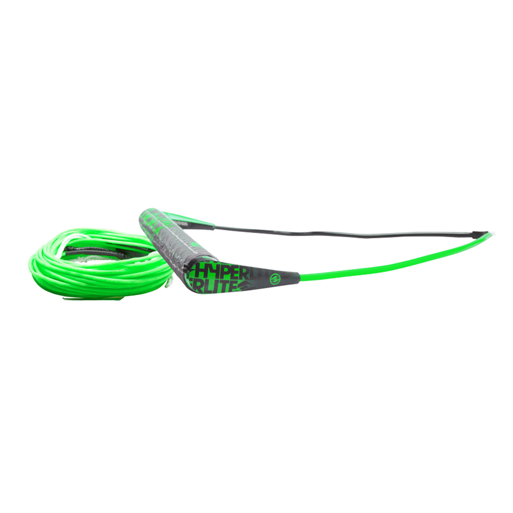 Hyperlite Team Handle with 75' Silicone X-Line Combo - Green - 77000403
