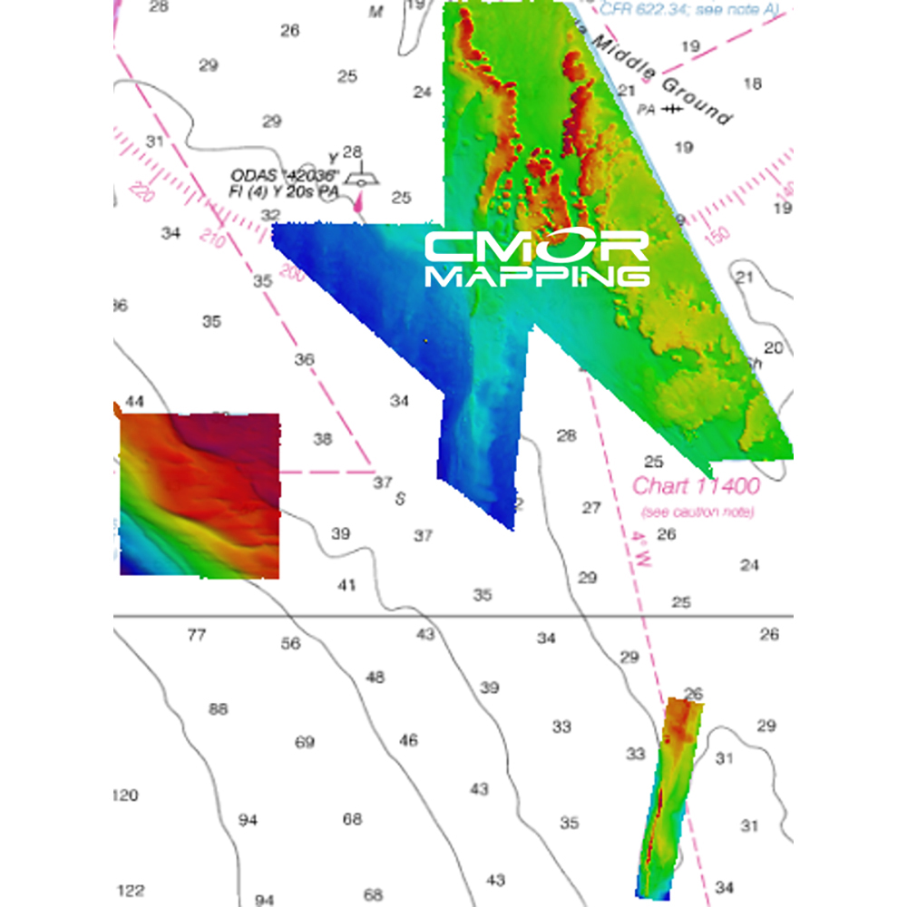 CMOR Mapping Florida Middle Grounds for Raymarine - MDGR001R