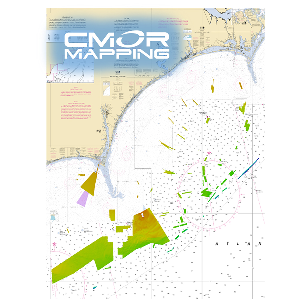 CMOR Mapping Georgetown and Cape Lookout for Simrad, Lowrance, BandG and Mercury - GTCL001S