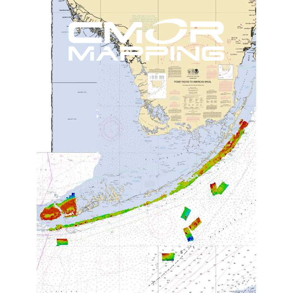 CMOR Mapping South Florida for Simrad, Lowrance BandG and Mercury - SOFL001S
