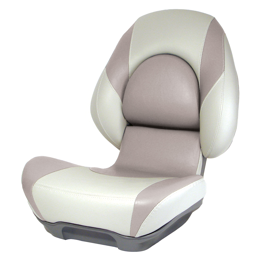 Attwood Standard Centric 2 Fully Upholstered Seat - Tan/Beige - 98971BE-2