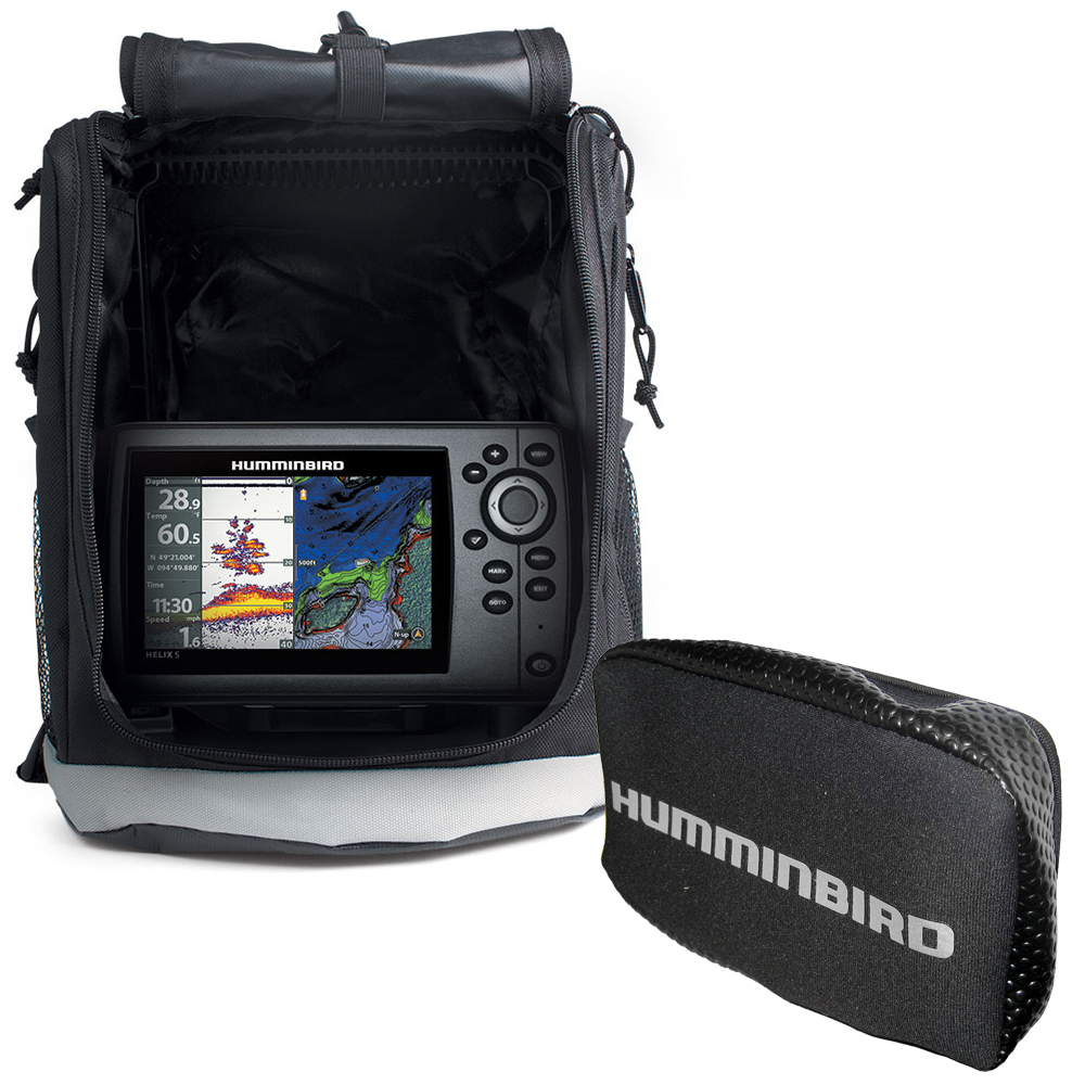 Humminbird HELIX 5 Chirp GPS G2 Portable with Free Cover - 410260-1\COVER