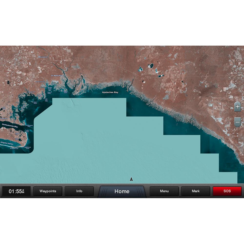 Garmin Standard Mapping - Gulf Coast Clic microSD/SD Card - 010-C1186-00 on