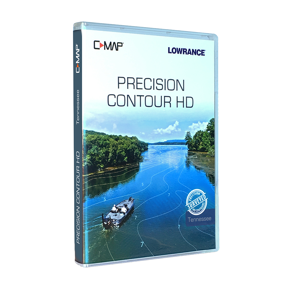 Details about Lowrance C-MAP® Precision Contour HD Tennessee Chart  000-14809-001