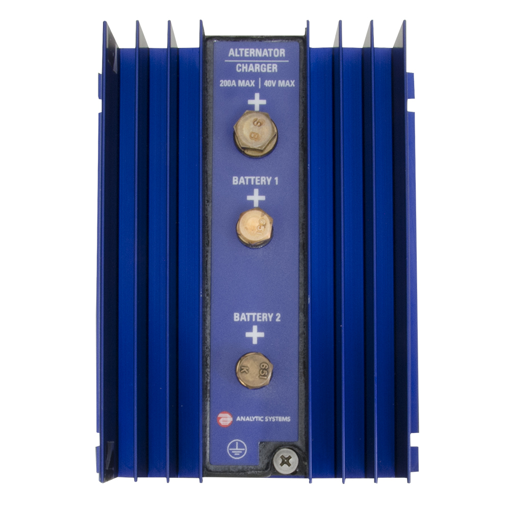 Analytic Systems 2-Bank Battery Isolator, 200A, 40V CD-77034
