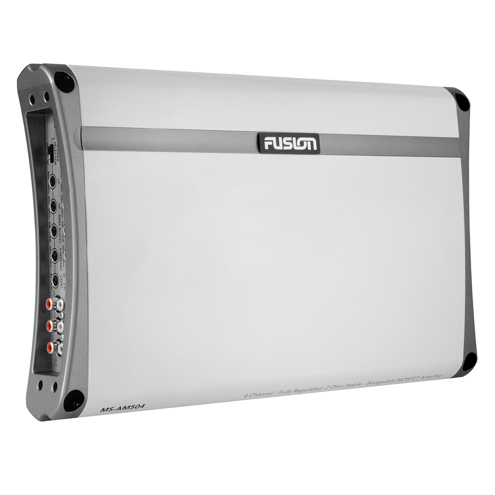 FUSION MS-AM504 500 WATT AMP 4 CHANNEL