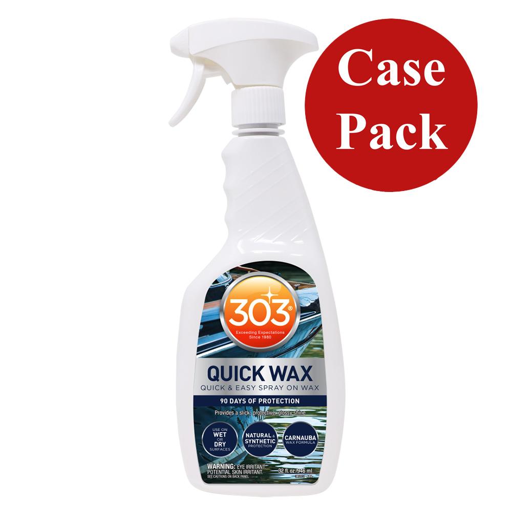303 Marine Quick Wax with Trigger Sprayer - 32oz *Case of 6* CD-78266