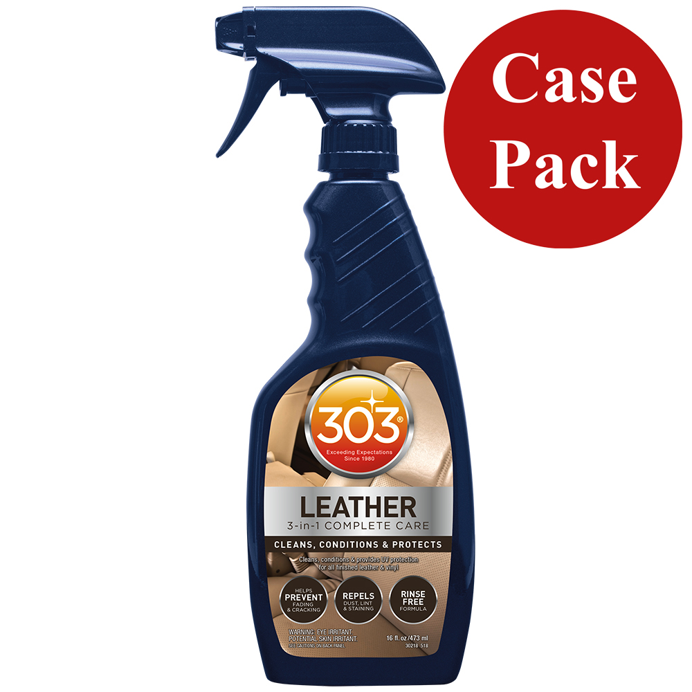 303 Automotive Leather 3-In-1 Complete Care - 16oz *Case of 6* CD-79936