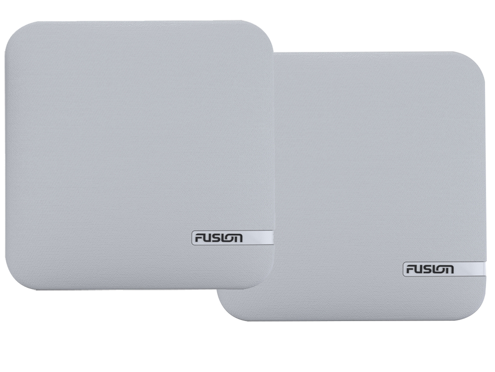 FUSION SM-X65CW WHITE CLOTH REPLACEMENT GRILLE COVER