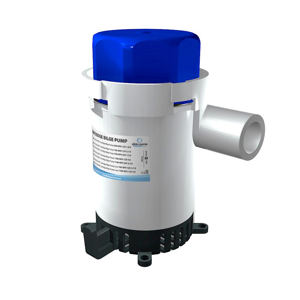 Albin Pump Cartridge Bilge Pump 1100GPH - 12V CD-81326