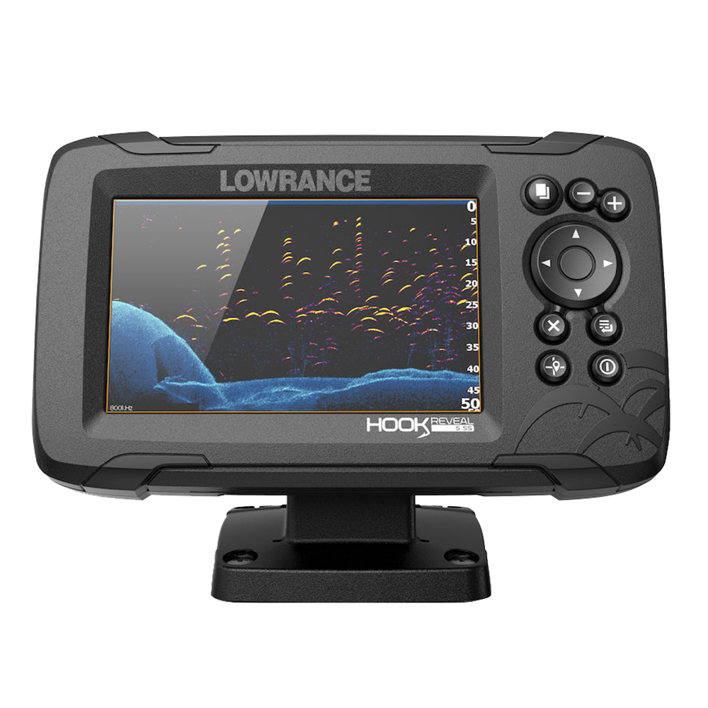 LOWRANCE HOOK REVEAL 5 COMBO WITH SPLITSHOT T/D US INLAND