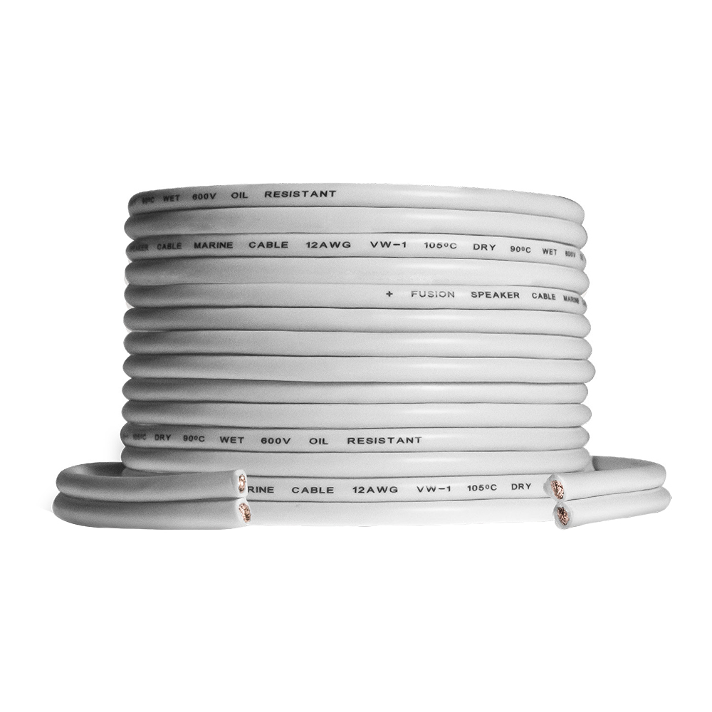 FUSION SPEAKER WIRE 12 AWG 25' (7.62M) ROLL
