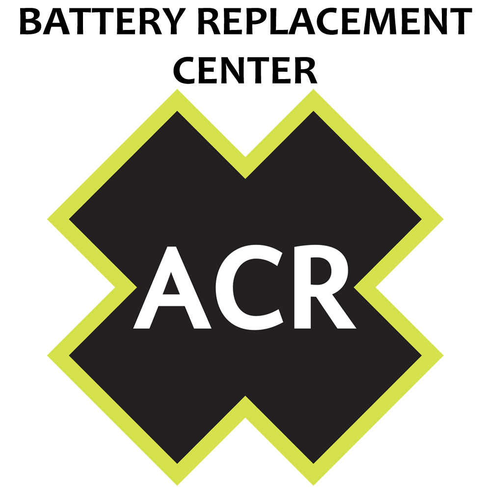 ACR FBRS 400 & 425 Battery Replacement Service - PLB 400 & PLB 425 Includes 1105 Battery Parts & Labor CD-85684