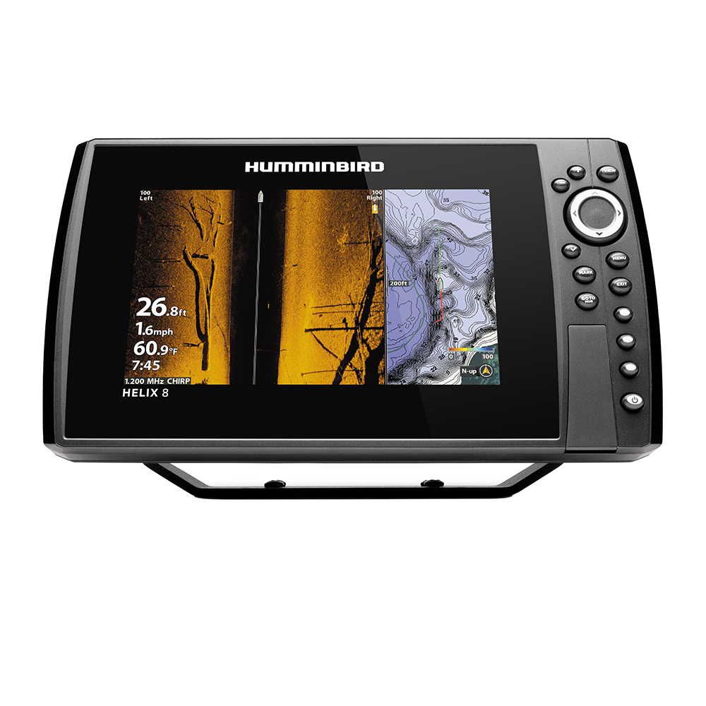 Humminbird HELIX 8 CHIRP MEGA SI+ GPS G4N CHO Display Only 411350-1CHO