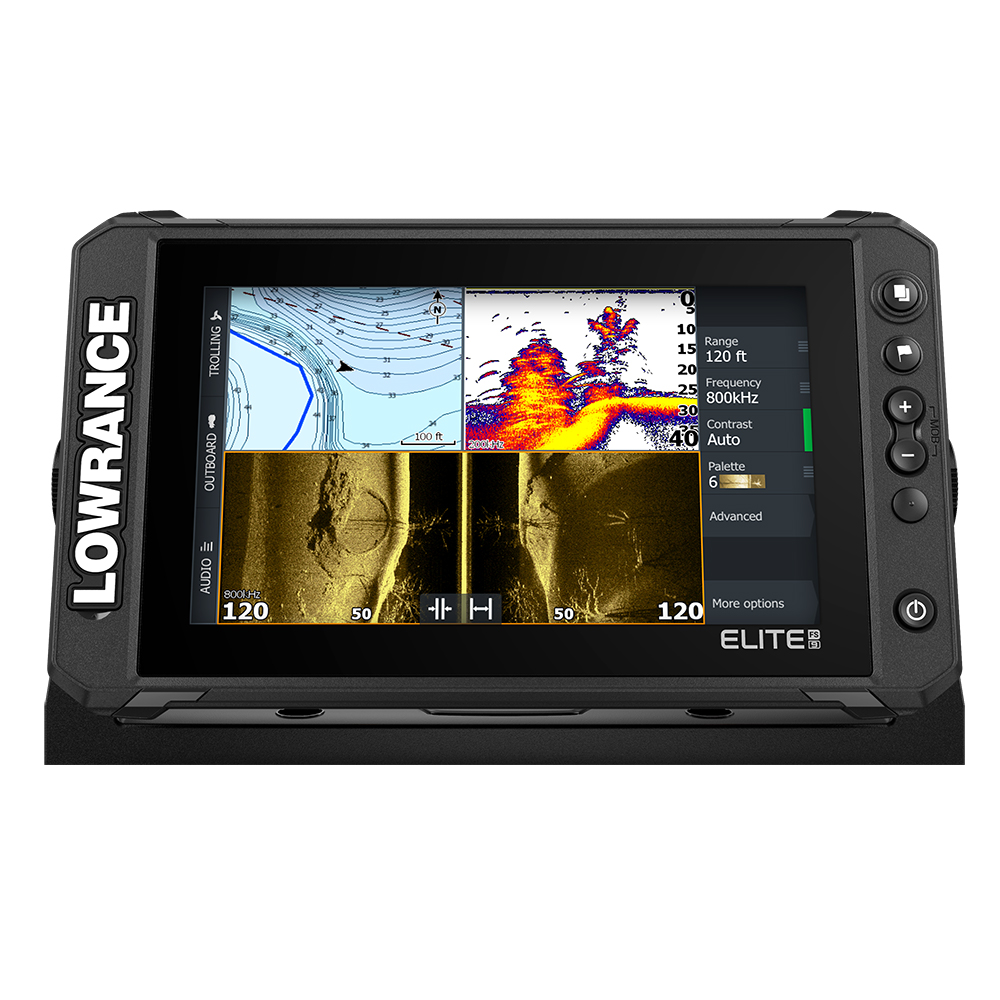LOWRANCE ELITE FS 9 COMBO WITH 3-IN-1 ACTIVE IMAGING TM