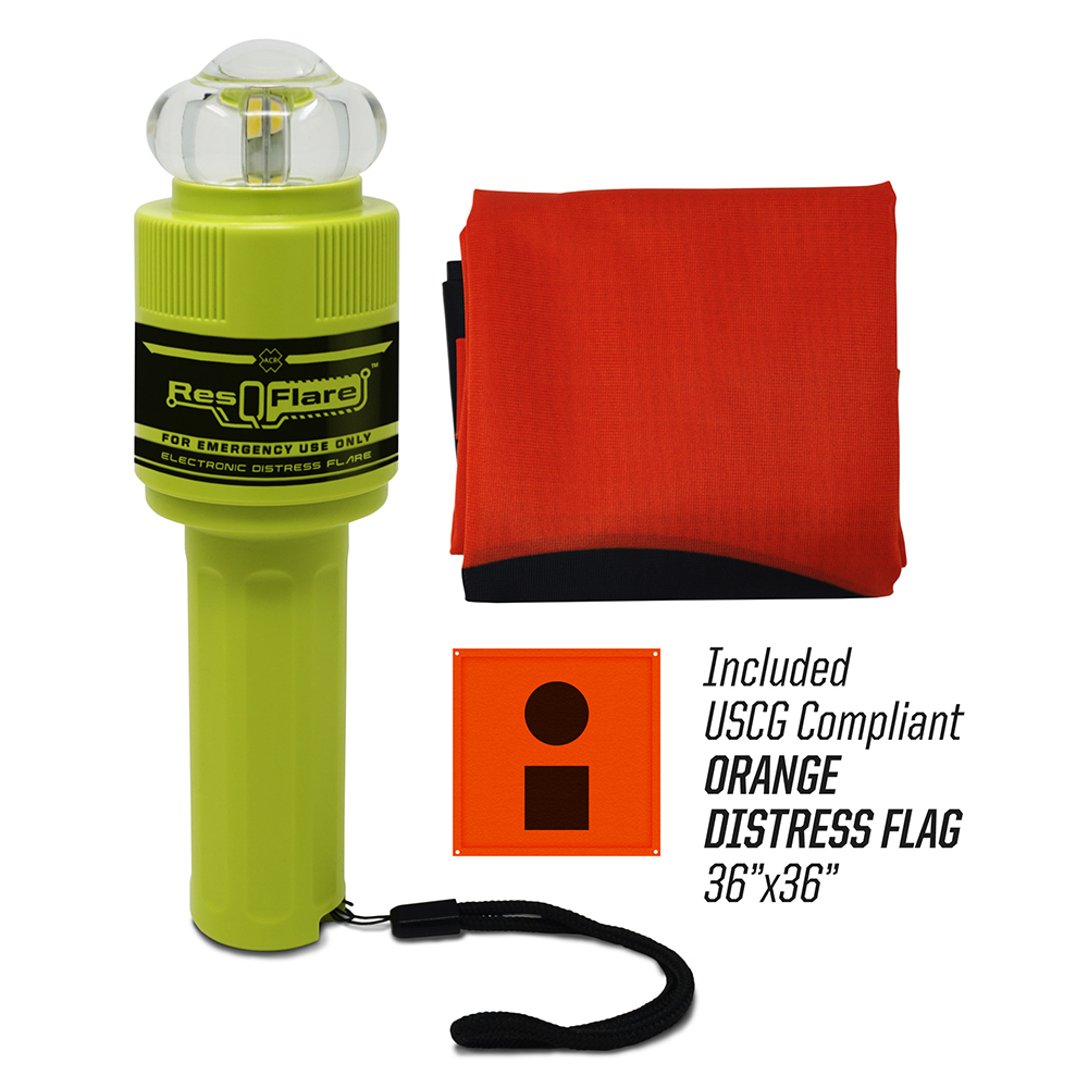 ACR ResQFlare Electronic Flare & Flag CD-87411
