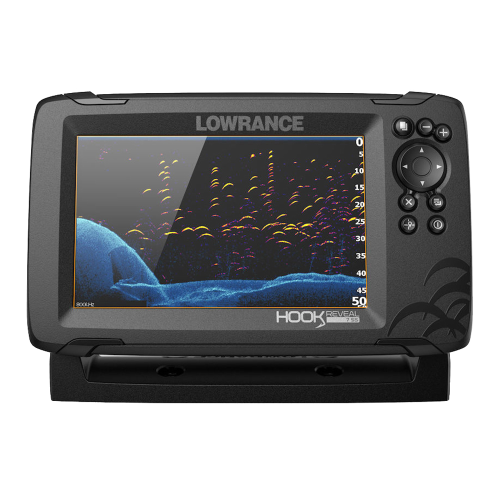 LOWRANCE HOOK REVEAL 7 COMBO 50/200 HDI T/M C-MAP CONTOUR+