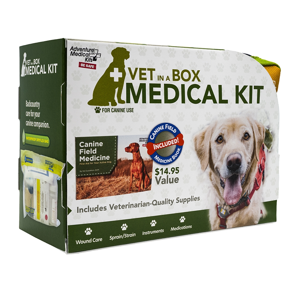 Adventure Medical Dog Series - Vet in a Box First Aid Kit CD-89108