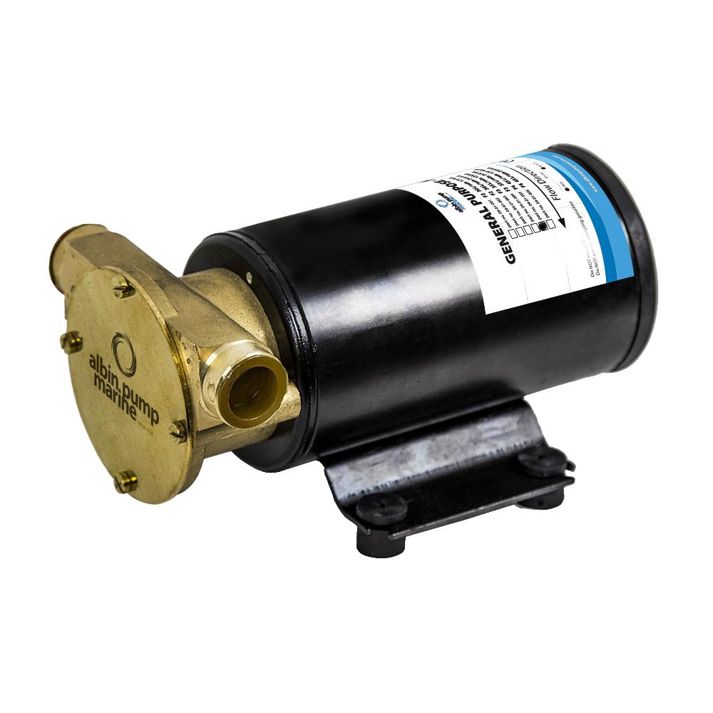 Albin Pump Marine General Purpose Pump FIP F4 (12 GPM) - 12V