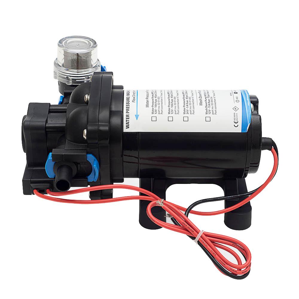 Albin Pump Water Pressure Pump - 12V - 2.6 GPM