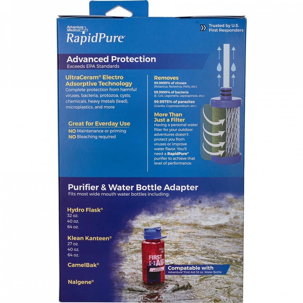 Adventure Medical RapidPure® Universal Bottle Adapter - Water Purification